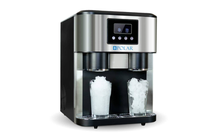 Ice Machine With Ice Water & Crushed Ice